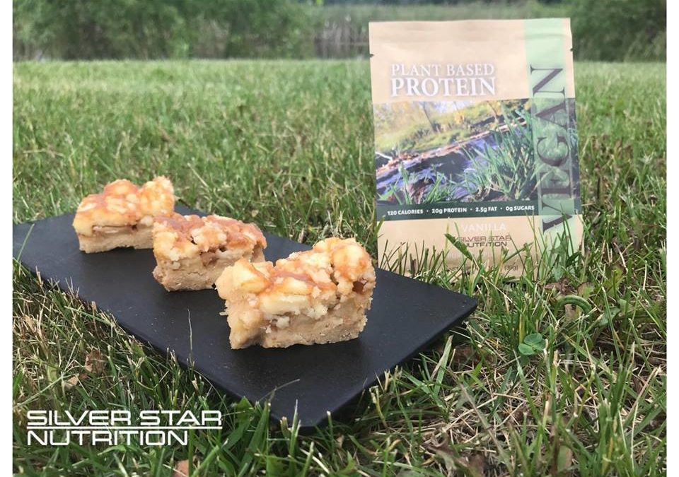 Caramel Apple Protein Bars
